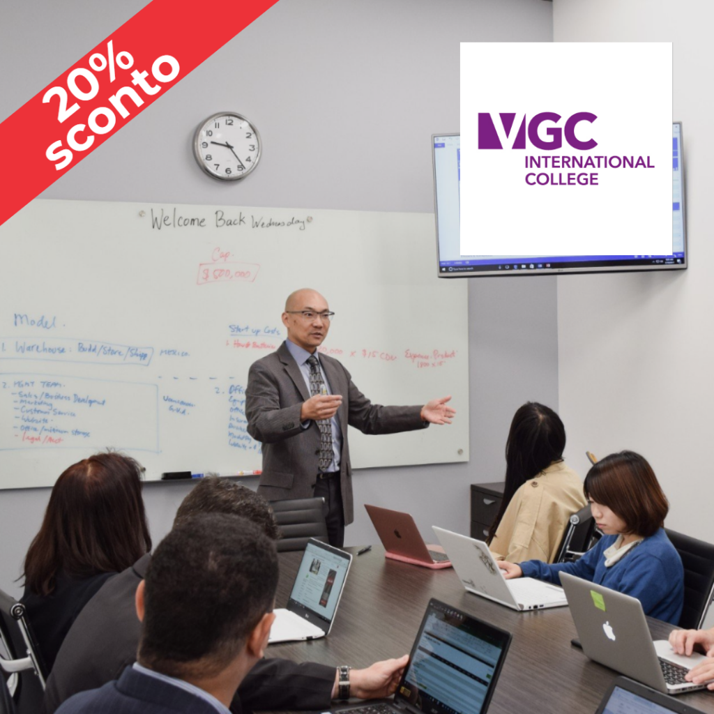 Intensive Business Programs in Canada con VGC International College